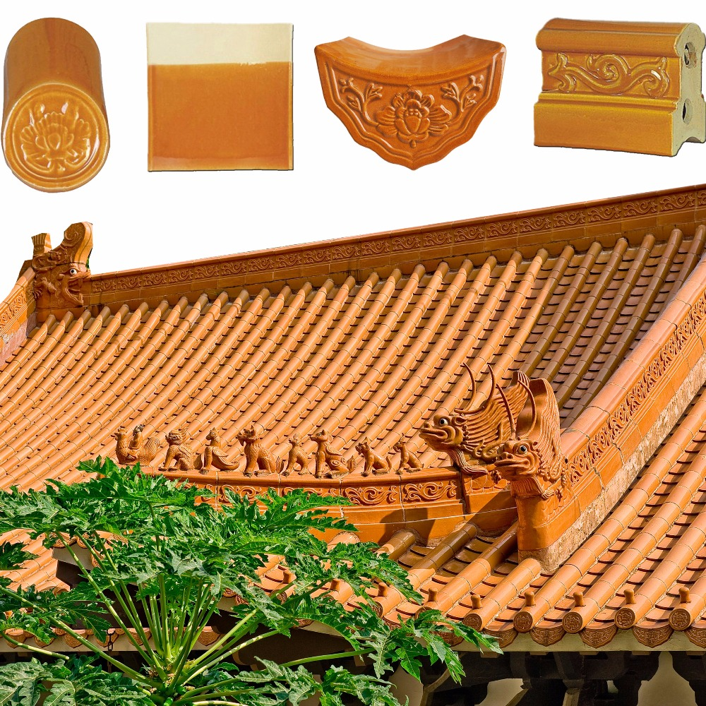 ML-001 kerala ceramic clay roof tiles prices