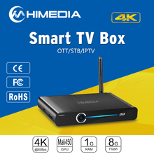 Himedia Q3 Quad Core Support 4K UHD HEVC 3D BDISO 1G RAM KODI 15.2 Android XBMC Box TV