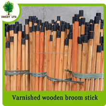 Good Quality Wood Varnish 20mm Diameter Wooden Broom Stick