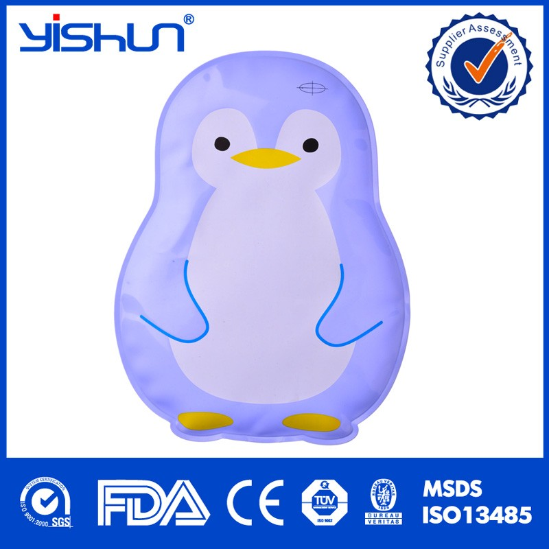 2017 YISHUN Good Price High Quality Medical Soft Gel Slippers Hot Cold Pack Ice Pack