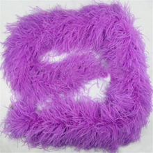 Wholesale Good Soft Cheap artificial Ostrich Feather Boas 5 ply feather