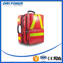 OP FDA CE ISO approved wholesale handy firefighting fluorescence first aid backpack