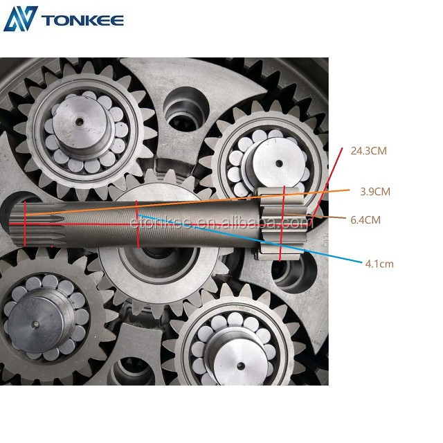 final drive R450-7 travel gearbox parts R450-7 travel motor
