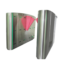 New designed waist height turnstile slide hidden barrier gate