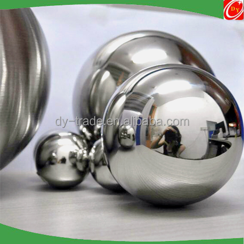 Wholesale Stainless Steel Gazing Hollow Ball with Screw/Nut/Hole