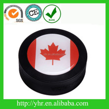 Custom logo printing ice hockey puck