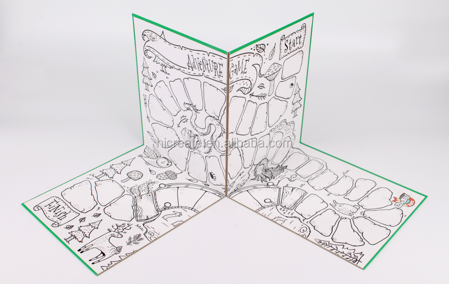 customized folding game boards