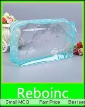 Simple pvc mini ziplock pouch with printed XYL-Z116