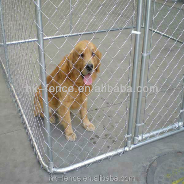 large dog kennel cage for pet welded and chain link dog kennel