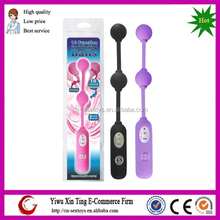 CE certificate Mixed Colors 10 Speeds vibration Double Balls Vibrator Vaginal Loving Balls for Female