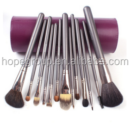 Comestic Brush Makeup Brush Leather Cup Holder Easy to carry