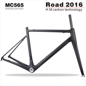 New Miracle Bike Carbon OEM Paint/Stickers 700C Road Bike Carbon Lightest Bicycle Frame BSA