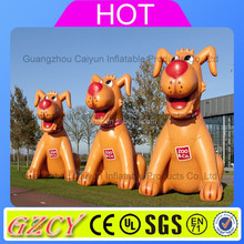 Giant inflatable dog animals model /inflatable characters for inflatable advertising