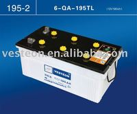 12v lead acid dry charged battery
