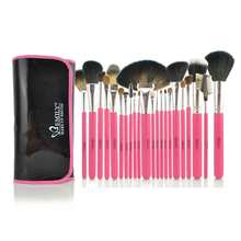 22pcs EMILY Best Hair Brush Set High Quality Brand Makeup Brand Name Makeup Kit