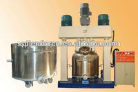Mixing machine for silicone sealants