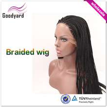 Wholesale Lace Front Wig With Two Tone Colored Synthetic Braiding Hair