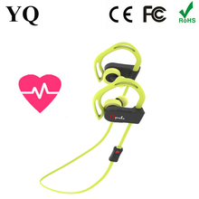2016 new Sport Pulse sports CSR bluetooth earphone headphone with HEART RATE MONITOR from YQ