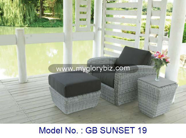 Relaxer Chair, Sub Bed, Garden Stool, Outdoor Furniture, Modern Relax Chair, Rattan Furniture
