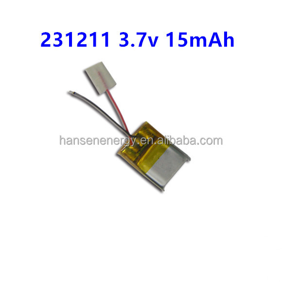 small Rechargeable Lithium Polymer Battery 3.7v li-po Battery smallest 3.7v battery