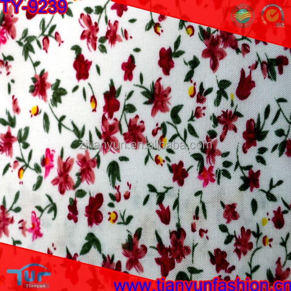 hot house flowers dainty digital printing calico fabrics cotton fabric