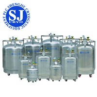 Factory supply CE Certified portable liquid nitrogen filling dewar/ tank updated cryogenic liquid tanker