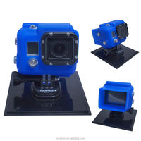 Silicone Cases For GoPro Hero 3 Sports Camera Silicon Case - green