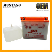 12v Battery Lead Acid Battery For Loncin and Lifan 125cc Motorcycle
