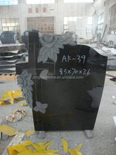 China black granite American style tombstone sizes