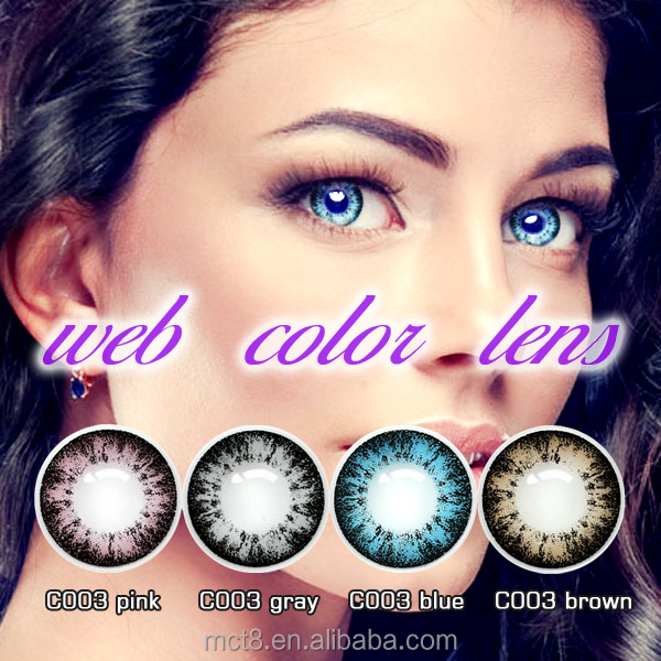 wholesale baby doll eyewear yearly beautiful color contact lenses