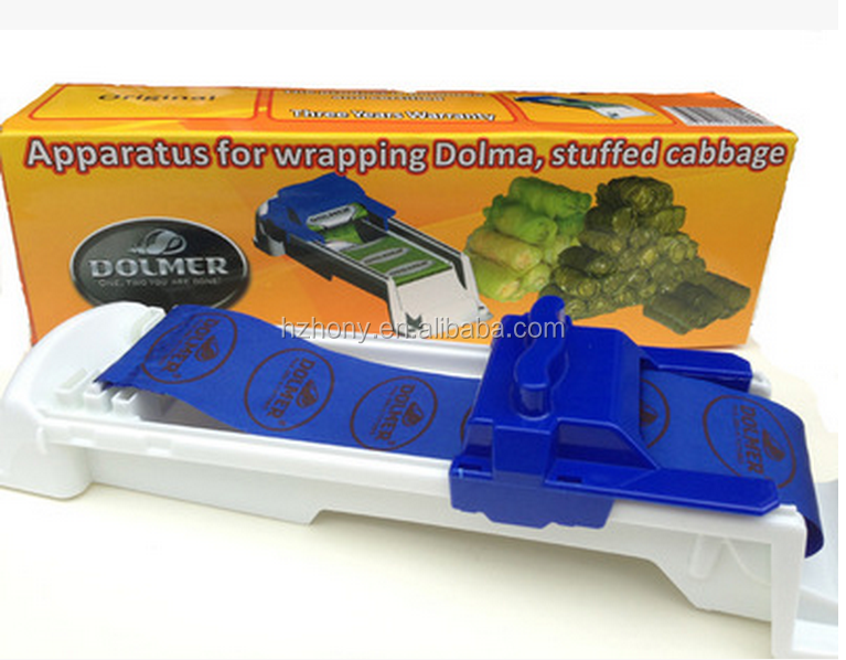 Hot Stuffed Meat And vegetable Roller Dolmer Stuffed Grape & Cabbage Leaf Rolling Tool Sushi Maker Kitchen Accessories