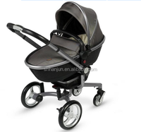 hot sale portable 3 in 1 aluminum japanese baby strollers 2016