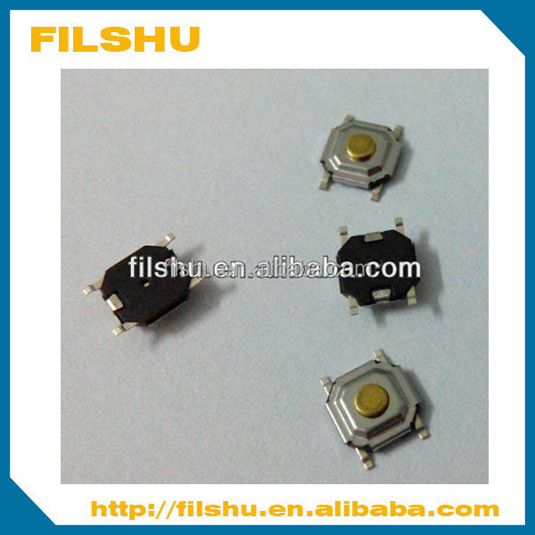 4*4mm 4pin SMD surface mount normally closed tact switch