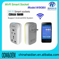 Wifi smart plug/socket Smart Home Automation product for Wifi Control via Android /iOS Phone& Wifi Smart Control Wifi Socket