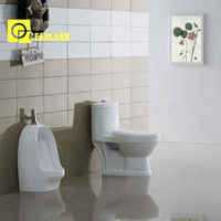 hot design home decoration ceramic toilet wc sizes