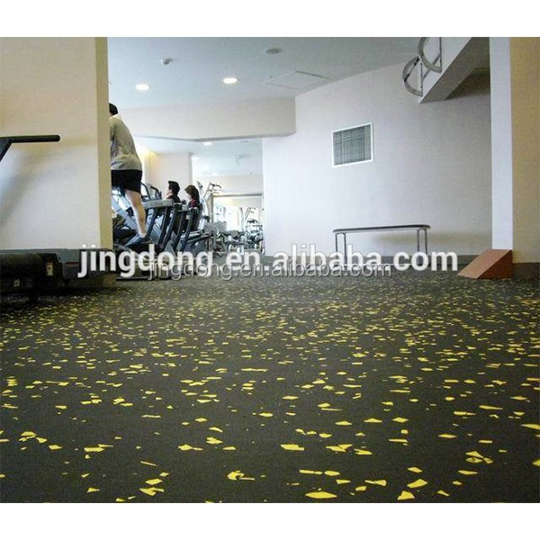 Low price guaranteed quality spraying rubber flooring
