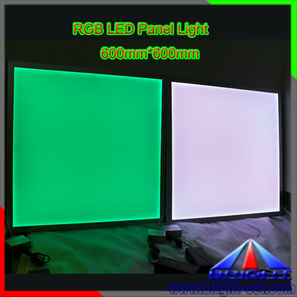 3 Years Warranty6060, Dimmable RGB LED Panel with Remote Controller