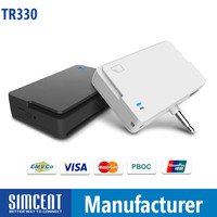 PinPad Mobile Magstripe Card Reader with IC EMV Chip Card reader for Android & IOS Mobile payment