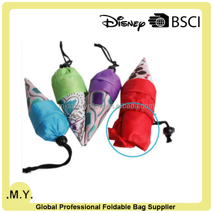 Ice Cream Shape Cheap Foldable Shopping Bag