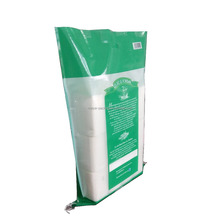 Best selling durable using non woven 25kg laminated rice price 5kg rice bag