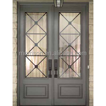 cheap price iron decoration door
