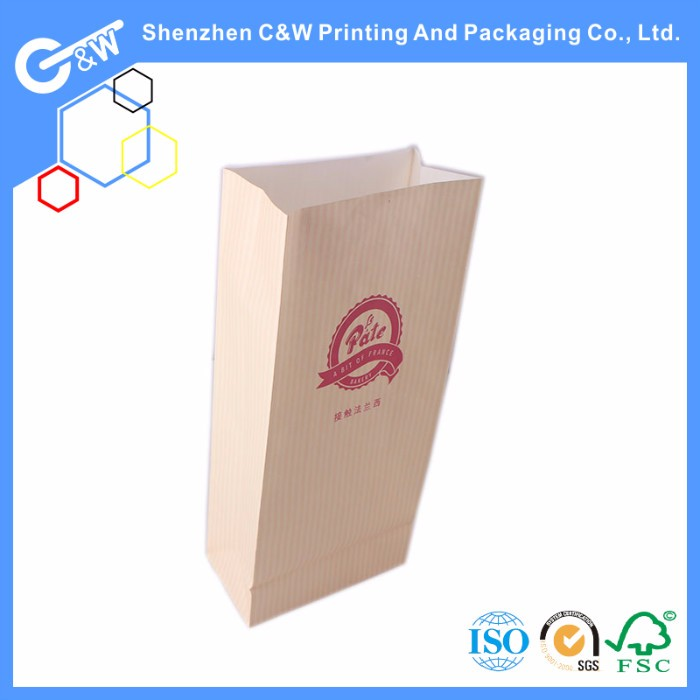 fast food snack fried chicken paper bags