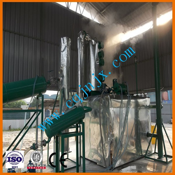 Small-scale refinery for diesel oil JNC china used oil recycle machine