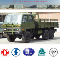 DONGFENG 6*6 military vehicle, dump truck for sale