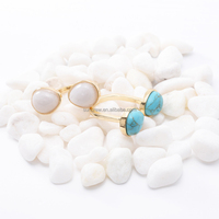 new design Turquoise fashion ring SX9977 jewelry manufacturer china
