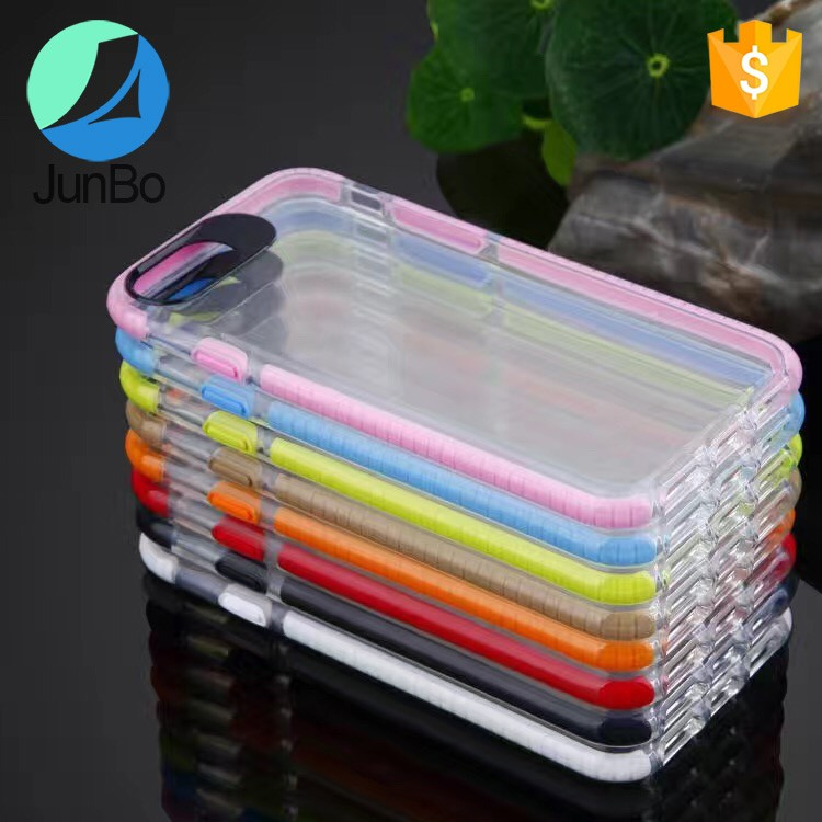 New Bumper cell phone case for iphone 7, for iphone 7 case tpu