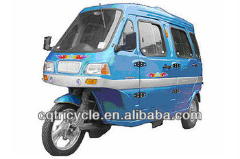 Taxi tricycle,passenger 3 wheel motorcycle,closed cabin tricycle