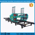 band saw for wood cutting band sawmill with diesel engine large log cutting horizontal band saw
