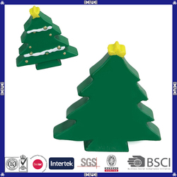 Factory sale top quality christmas tree shaped pu toy