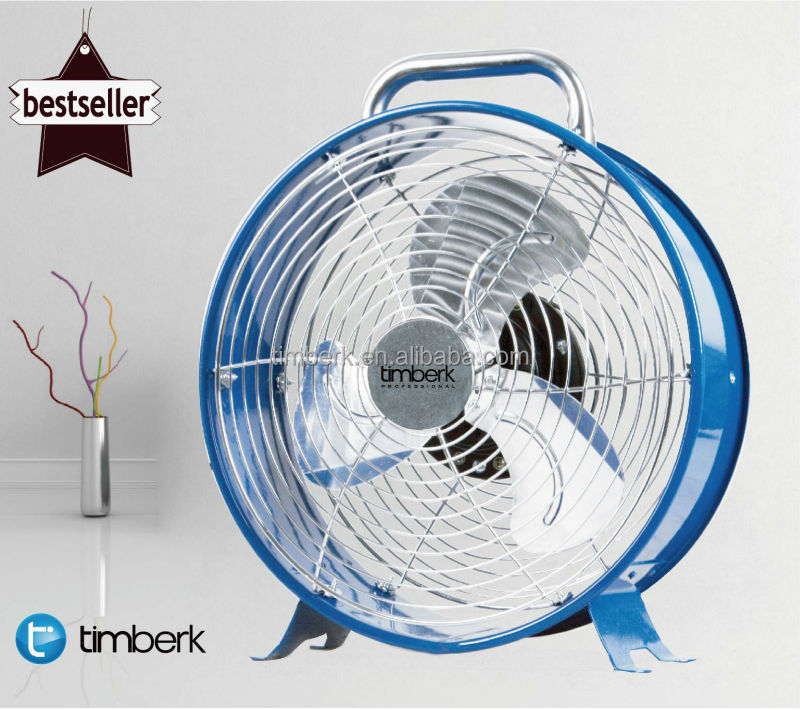 Small metal electric cooling silent desk fans